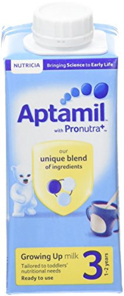 Aptamil Stage 3 Growing Up Ready to Drink Milk 200ml