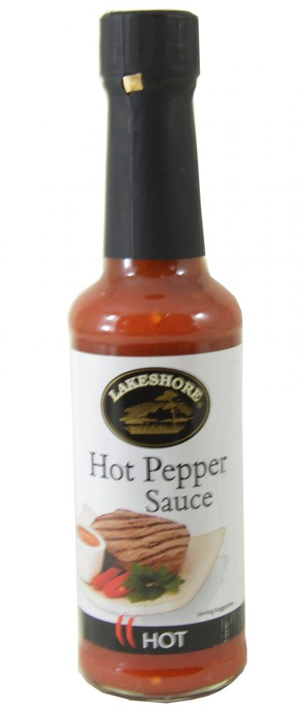 Lakeshore Hot Pepper Sauce 150g