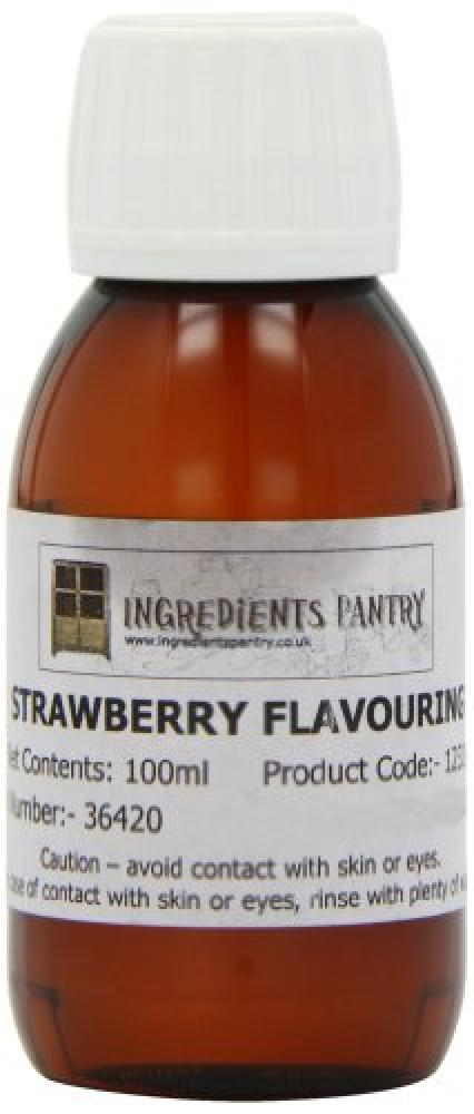 Ingredients Pantry Natural Strawberry Flavouring 100 ml