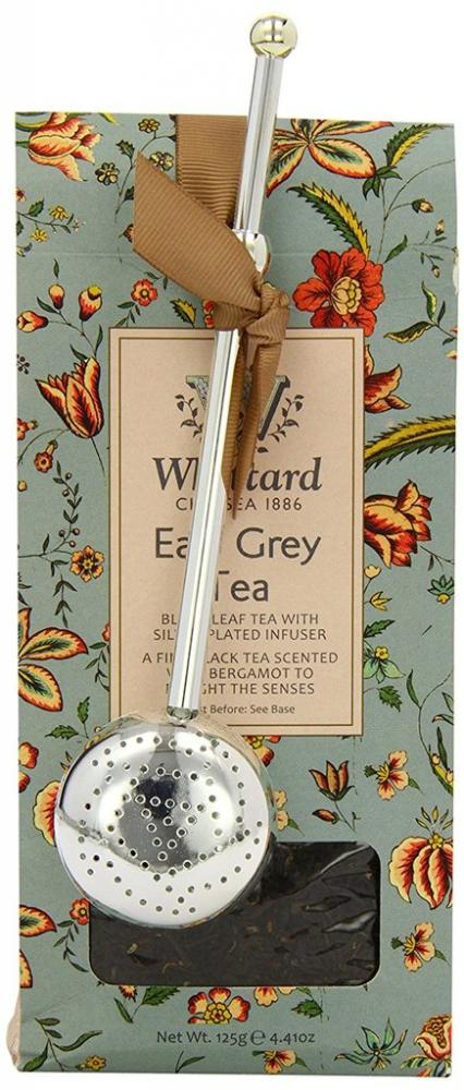 Whittard of Chelsea Earl Grey Tea and Infuser Pouch