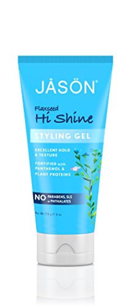 Jason Natural Products Hi-Shine Styling Gel 177ml