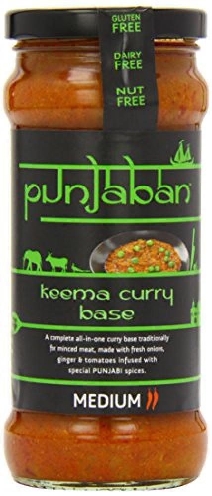 Punjaban Keema Curry Base Medium 350 g