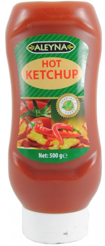 FURTHER REDUCTION  Aleyna Hot Ketchup 500g
