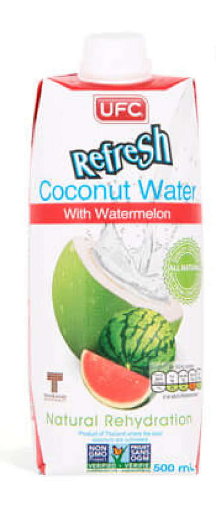 UFC Refresh 100 Natural Coconut Water 500mL 500ml
