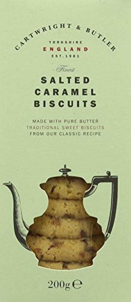 Cartwright and Butler Salted Caramel Biscuit 200g