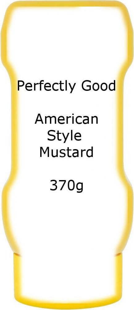 Perfectly Good American Style Mustard 370g