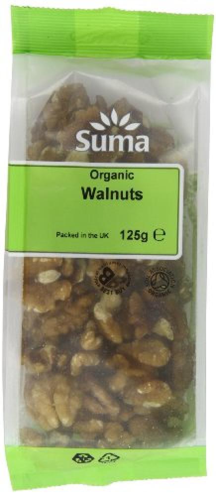 Suma Organic Walnuts 125 g