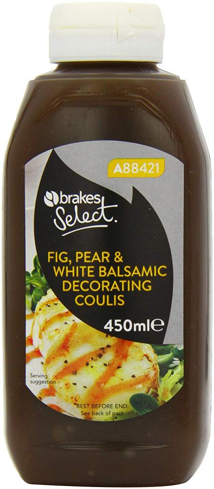 Brakes Fig Pear and White Balsamic Decorating Coulis 450g