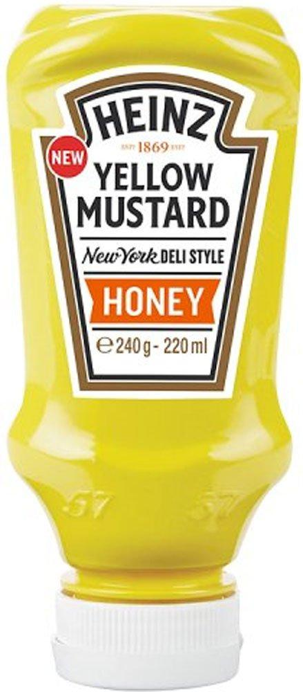 Heinz Yellow Mustard Honey 220ml