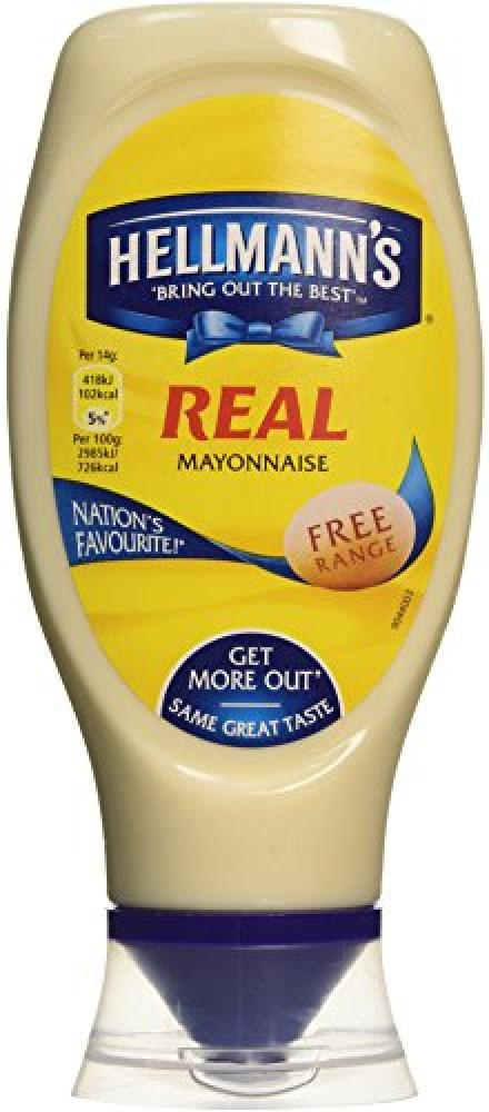 Hellmanns Real Mayonnaise 404g