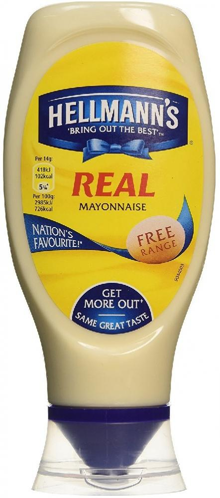 Hellmanns Real Mayonnaise 430ml