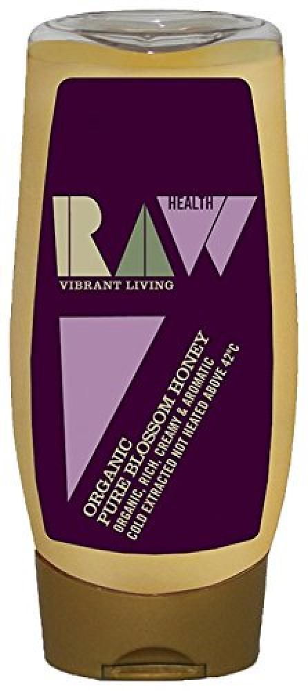 Raw Health Organic Pure Blossom Honey 350 g