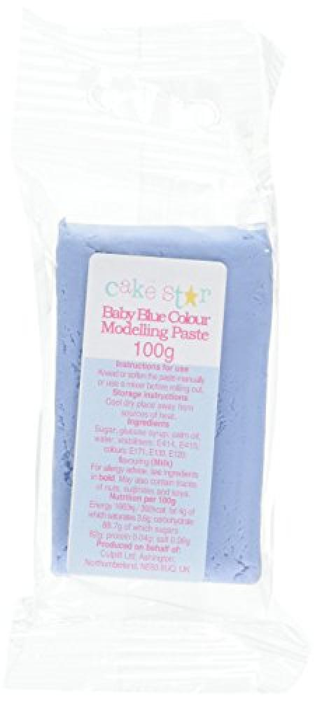 Cake Star Edible Baby Blue Modelling Paste 100g