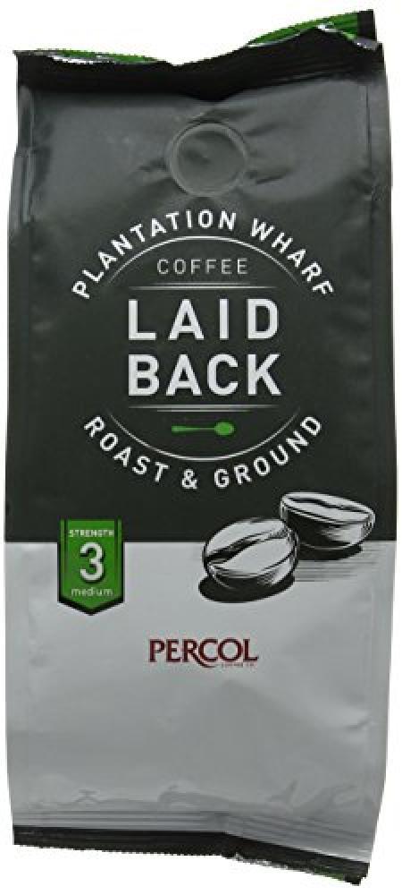 Percol Plantation Wharf Laid Back Ground Coffee 150g