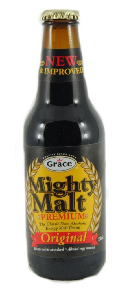 Grace Mighty Malt Premium Non-Alcoholic Drink 330ml