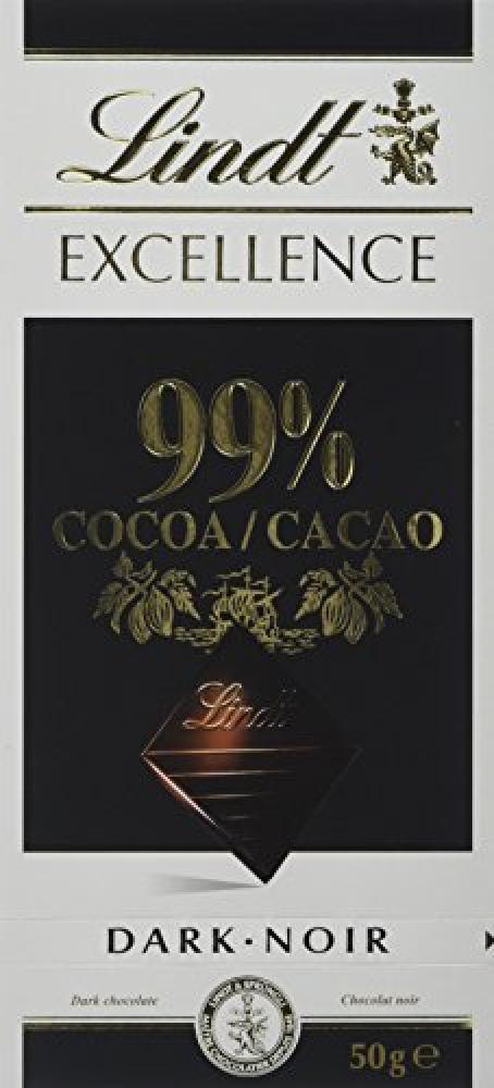 Lindt Excellence 99 Percent 50 g