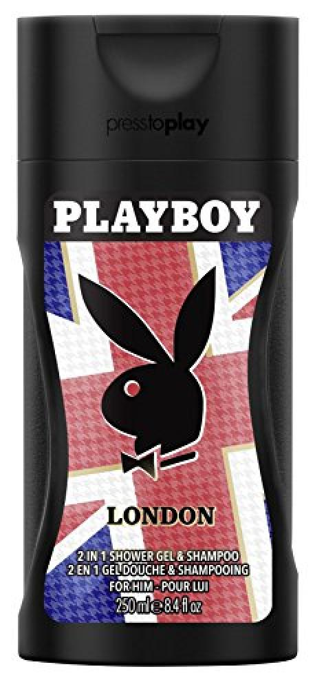 Playboy London Shower Gel for Men 250 ml