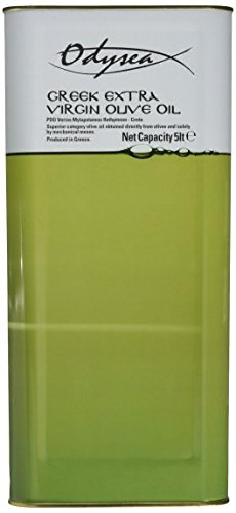Odysea Greek Extra Virgin Olive Oil Tin 5 Litre