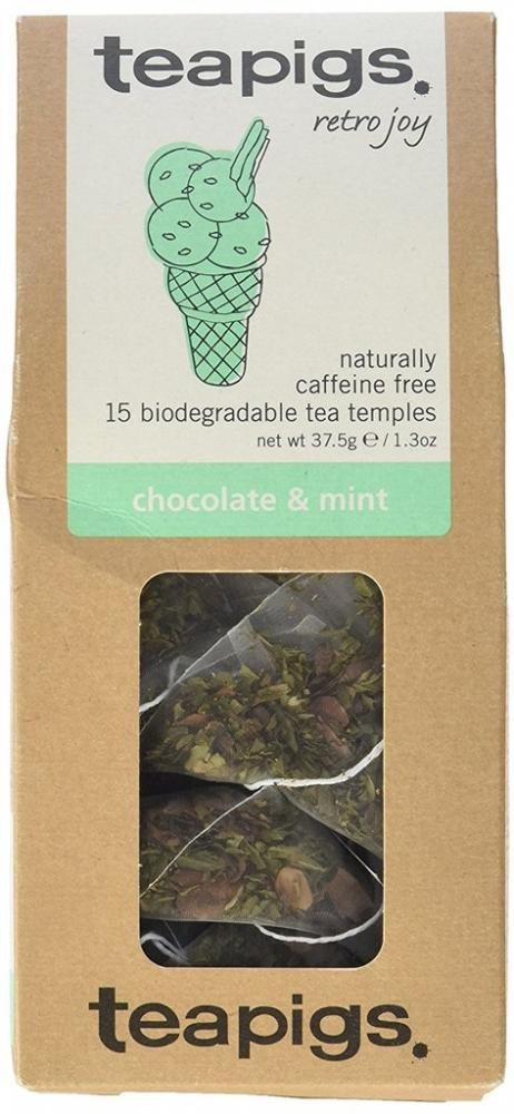 Teapigs Chocolate and Mint Tea Temples