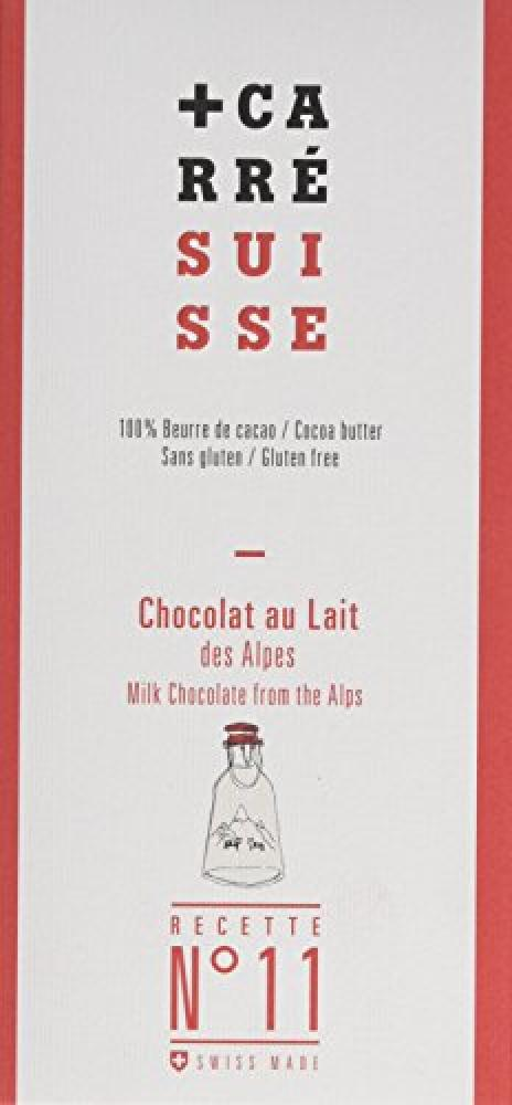 Carre Suisse Milk Chocolate 100 g