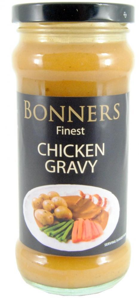 FURTHER REDUCTION  Bonners Finest Chicken Gravy 335g