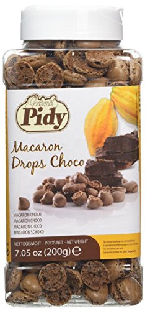 Pidy Macaron Drops Choco 200g