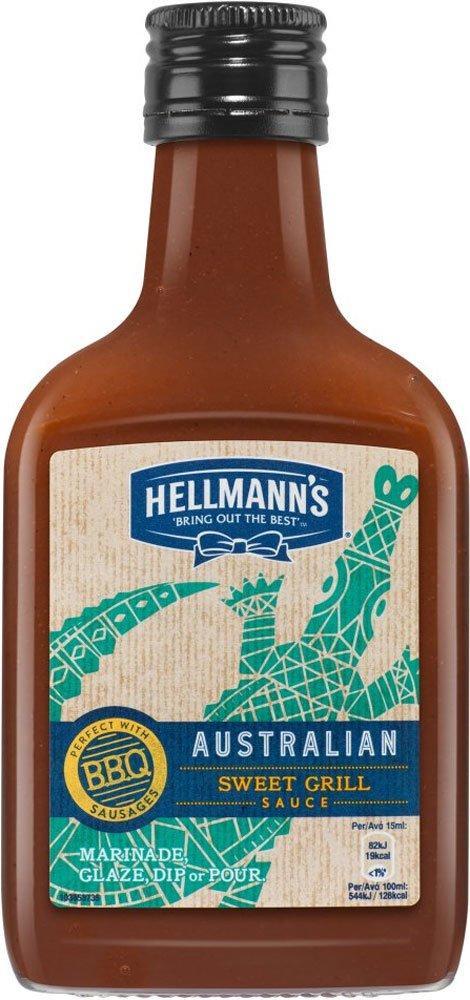 Hellmanns Australian Sweet Grill Sauce 200ml