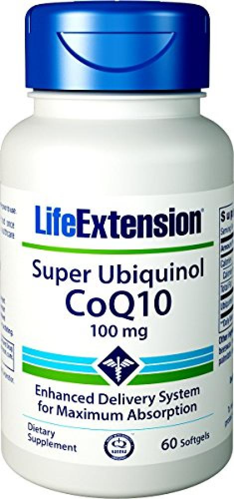 Life Extension Super Ubiquinol CoQ10 (100mg60 Softgels)