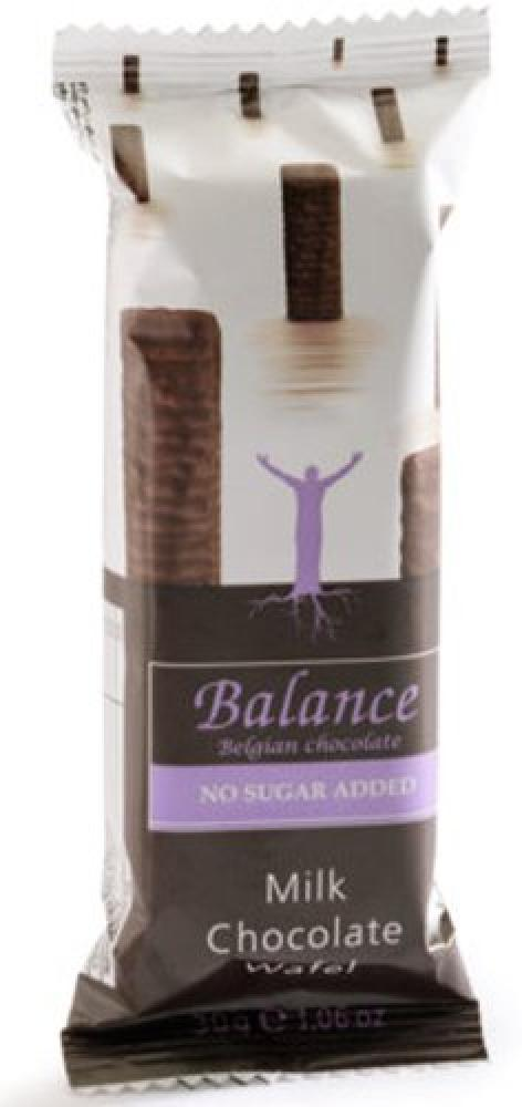 Balance No Added Sugar Milk Chocolate Wafers 30g