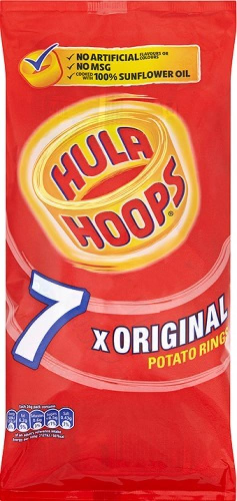Hula Hoops Hula Hoops Original 7 x 24g 7 x 24g