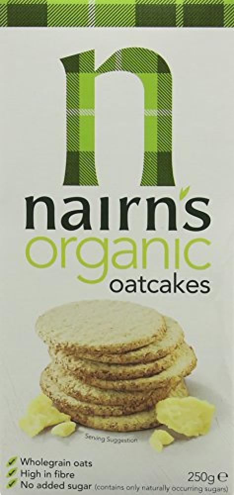 Nairns Organic Oatcake 250g