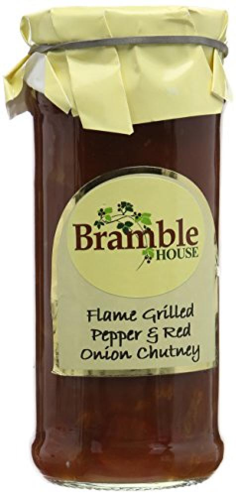 Bramble Foods Flame Grilled Pepper and Red Onion Chutney 280g
