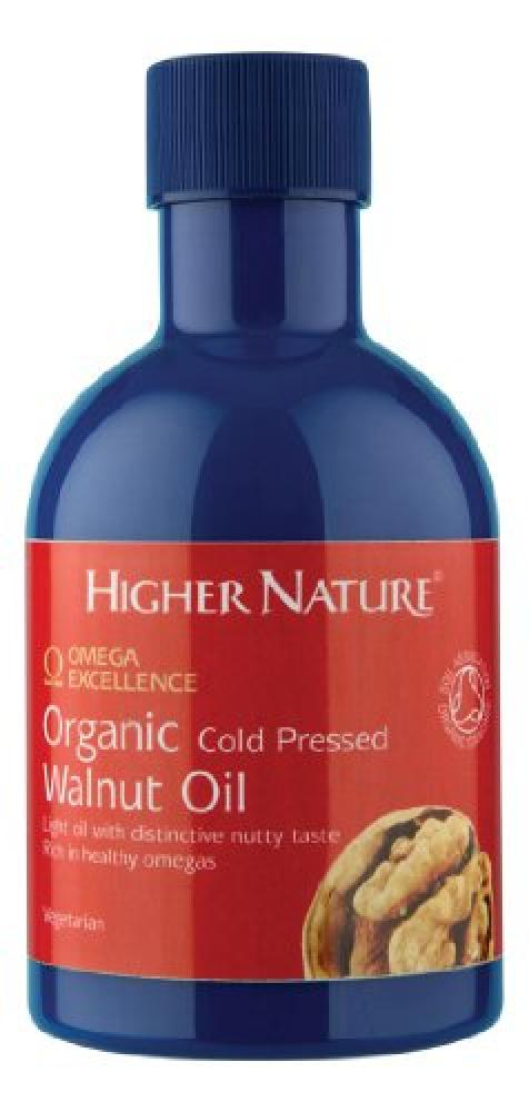 Higher Nature Organic Cold Pressed Walnut Oil 200ml