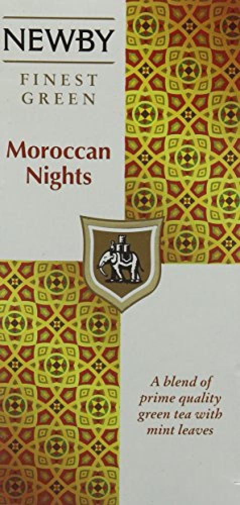 Newby Teas Classic Moroccan Nights Tea Bags 25 Bags