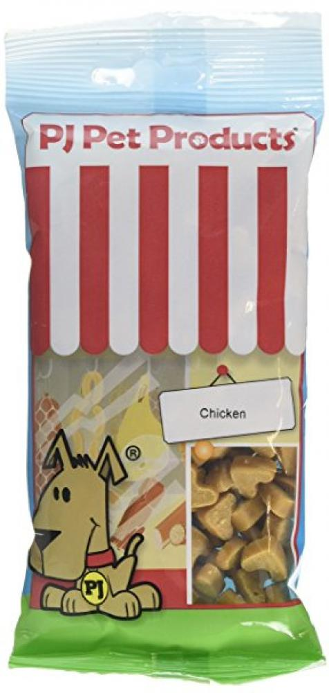 PJ Pet Products Heart Shaped Dog Treats - Chicken Flavour 100g