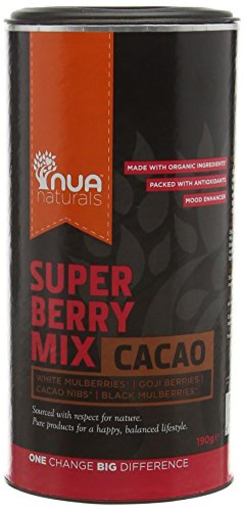 Nua Naturals Super Berry Mix Cacao 190g