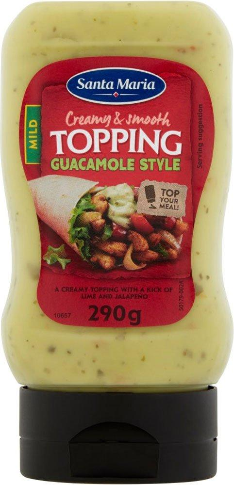 Santa Maria Guacamole Style Style Topping 290g