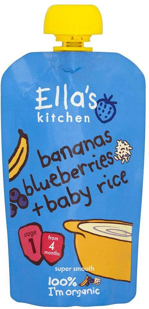 Ellas Kitchen Bananas Blueberries and Baby Rice 120g