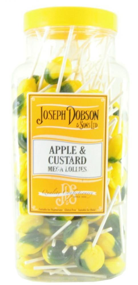 Joseph Dobson and Sons 90 Apple and Custard Mega Lollies