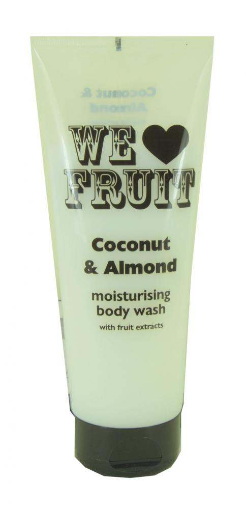 We Love Fruit Coconut and Almond Moisturising Body Wash 220ml