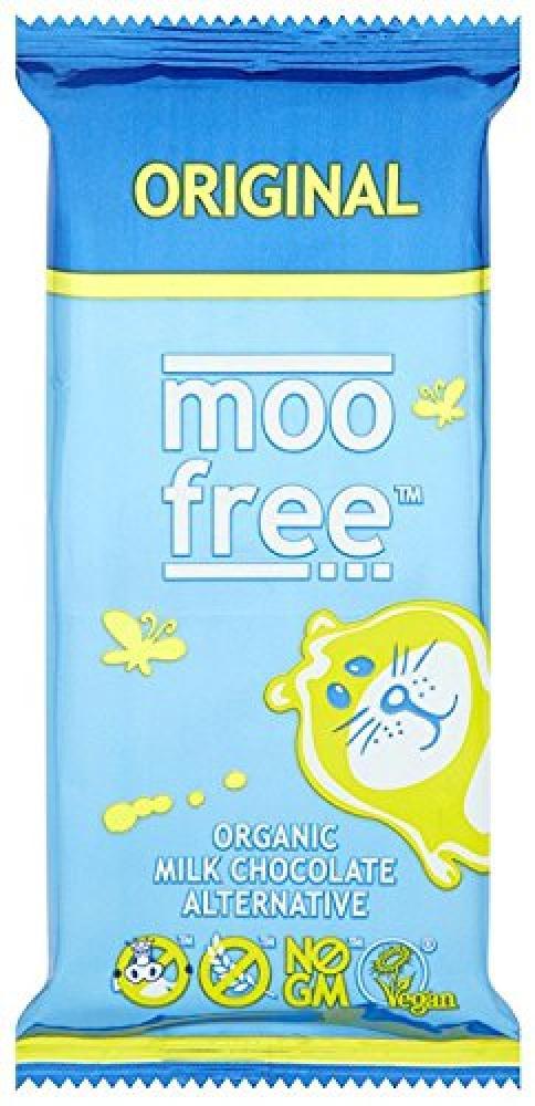 Moo Free Organic Dairy Free Chocolate Bar 100 g