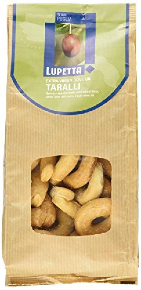 Lupetta Extra Virgin Olive Oil Taralli 250 g