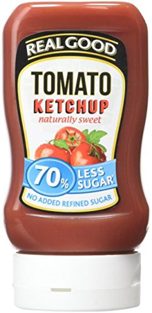 Real Good Tomato Ketchup No Added Sugar 315g