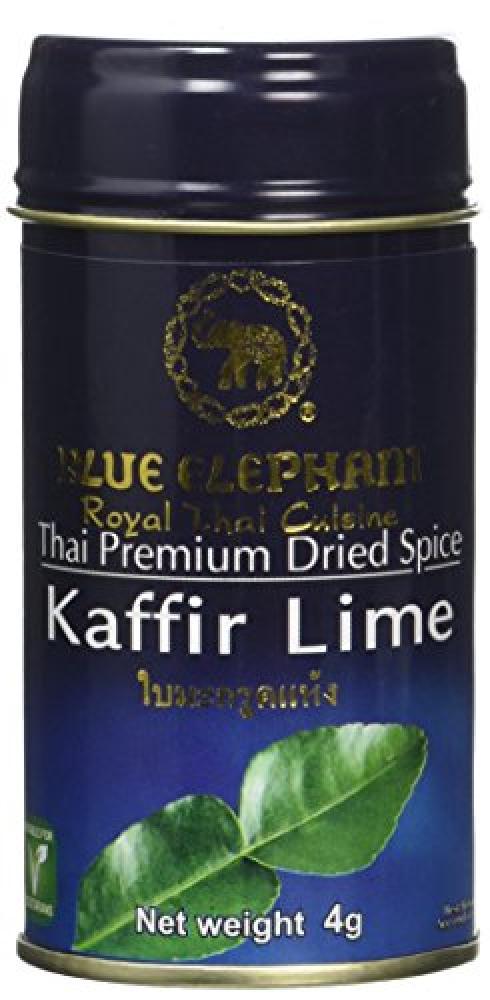 Blue Elephant Royal Cuisine Thai Premium Dried Spice Kaffir Lime 4g