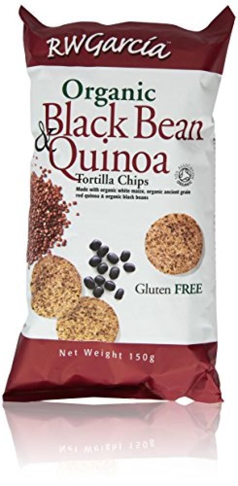 Rw Garcia Black Bean and Quinoa Tortillas 150 g