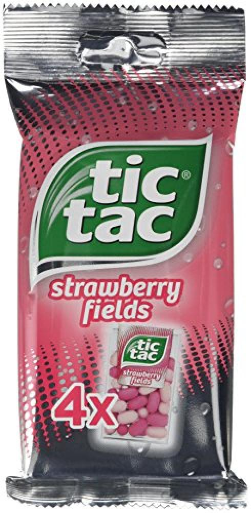 Tic Tac Strawberry Fields 4x 16g