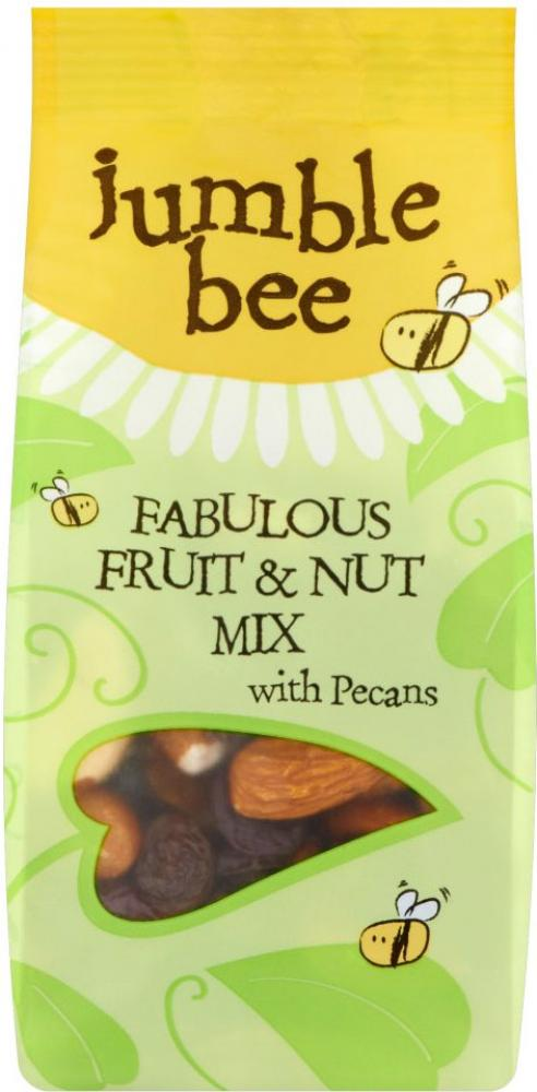 Jumble Bee Fruit and Nut Mix 175g