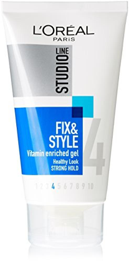 LOreal Studio Line Fix and Style 4 Vitamin Hair Gel 150 ml