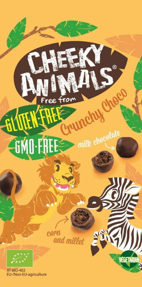 Cheeky Animals Organic Crunchy Choco 25g 25g
