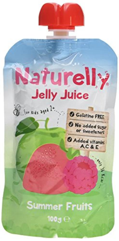 Naturelly Gelatine Free Summer Fruits Jelly Juice 100 g